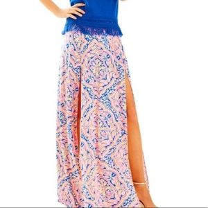 Lilly Pulitzer Can't Resist Ersi Maxi Skirt Large